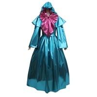 Cosplaydiy Custom Made Cinderella Fairy Godmother Cosplay Costume Dress Adult Princess Cinderella Dress L320