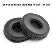 Sponge PU Earpad 45MM 110MM Foam Ear Pads 70mm 80mm 90mm Cushions for Sony for AKG for Sennheiser for ATH for Philips Headphones