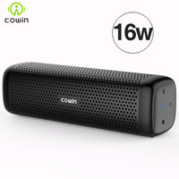 Cowin 6110 Mini Wireless Bluetooth 4 1 Stereo Portable Speaker With 16W Enhanced Bass Microphone TF
