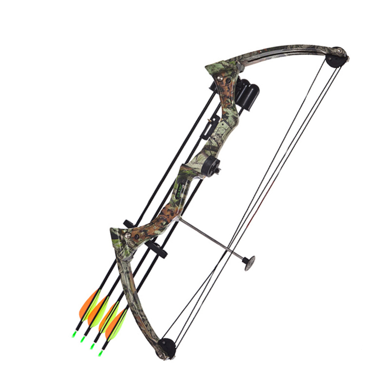 15-20 Lbs Compound Bow Women Teenager Children Archery Bow With Arrow Quiver Outdoor Hunting Shooting G05