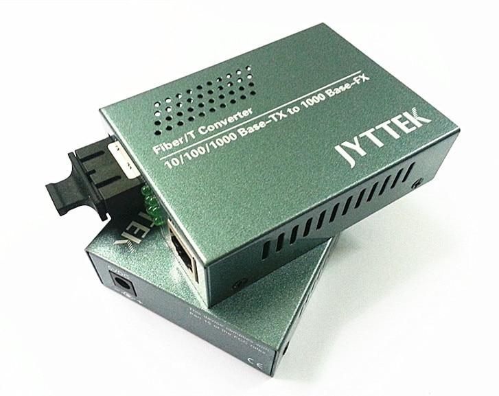 기가비트 단일 모드 이중 화이버 미디어 컨버터 광 - 통신 장비 - 사진 1