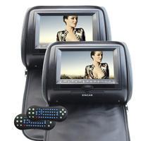 Eincar 7Inch Car DVD Player Headrest Video System 800480 Wide View LCD Digital Screen Auto Monitor