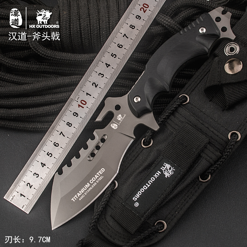 HX OUTDOORS 2017 new Portable Tactical army Survival Gear knife outdoor tools high hardness hunting knife essential tool fefense hx outdoors tactical knife outdoor tools high hardnes straight knife wilderness survival gear knife army stainless steel