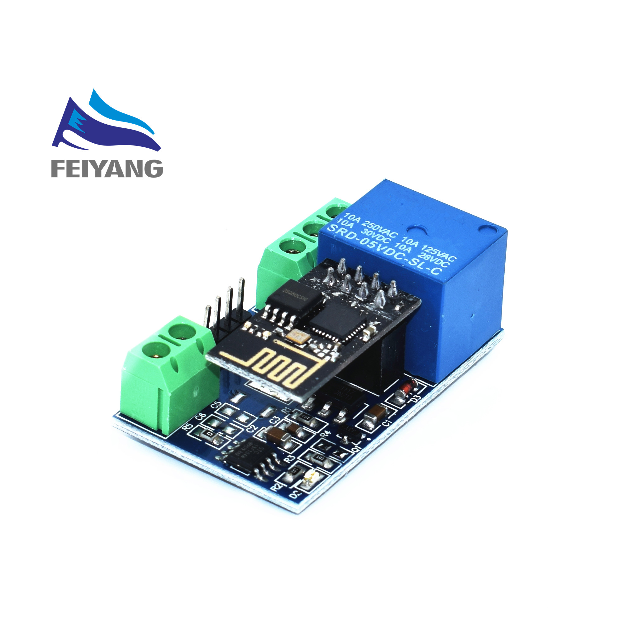 esp8266 5v wifi relay module things smart home remote control switch phone app in integrated. Black Bedroom Furniture Sets. Home Design Ideas