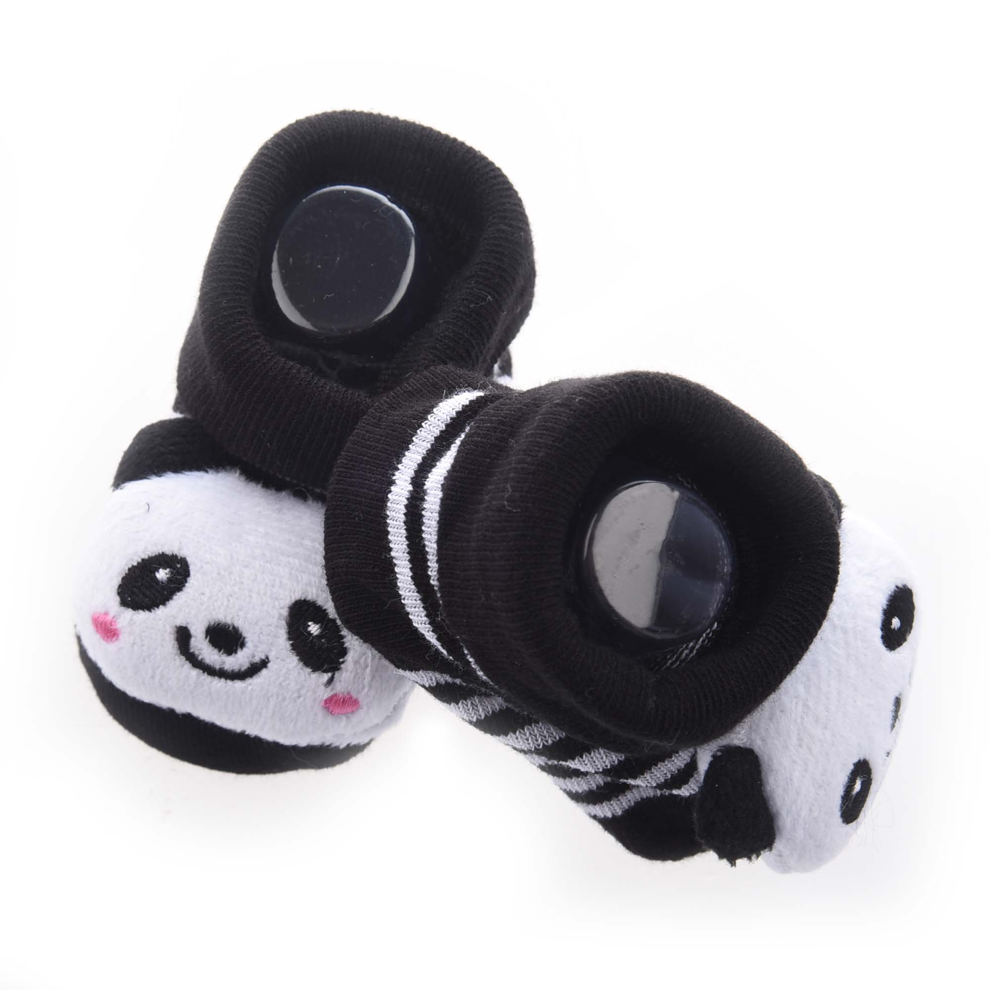 MACH Panda- Irresistibly Cute Baby Boy Girl 3D Bootie Socks Anti / Non Slip 0-12 Months