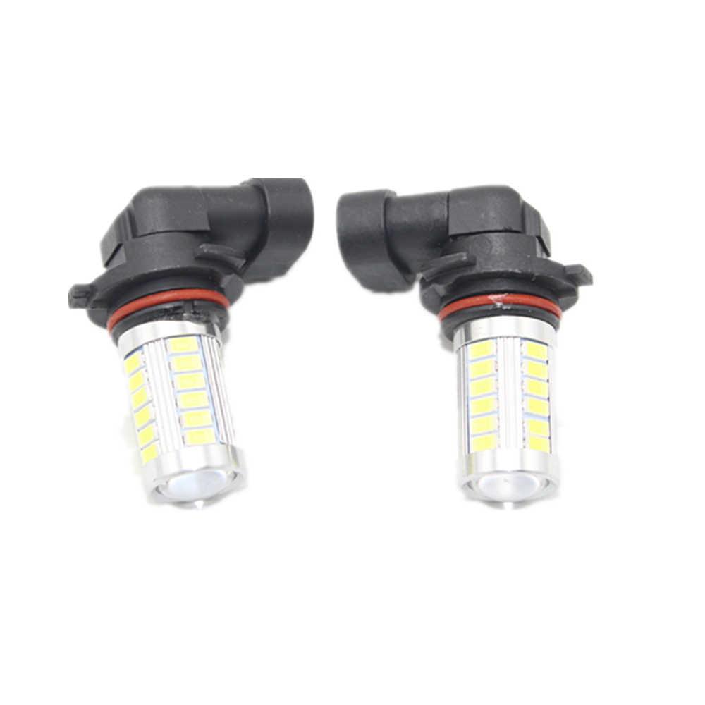 2 ชิ้นไฟ led สำหรับ VW Transporter Multivan Caravelle T5 2003 2004 2005 2006 2007 2008 2009 2010 ไฟ LED หมอกโคมไฟหลอดไฟหมอก