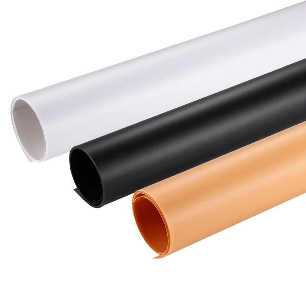 40x80cm fondo de fotografía telón de fondo PVC papel estudio tienda 3 colores foto tienda telones de fondo