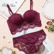 Lace Sexy Wireless Lingerie Comfortable Massage palm cup Gather brassiere Upper collection of accessory milk Small bra Bra Set
