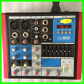 Мини Audio Mixer RMV4 Небольшой Микшерный пульт 4 Канала