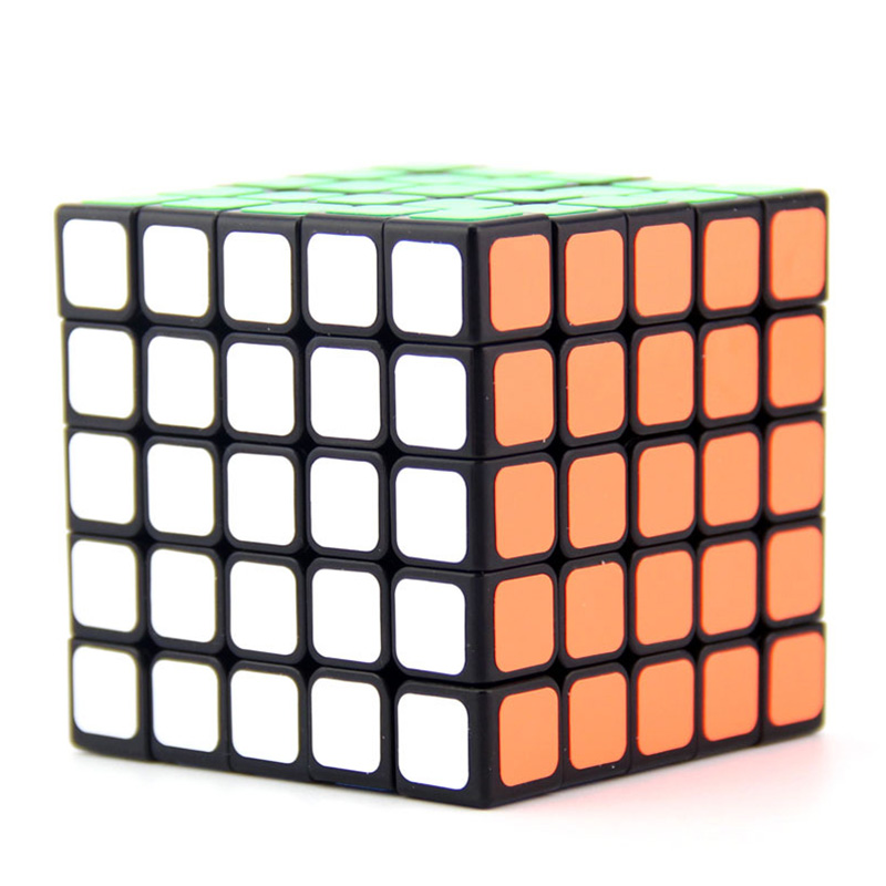 Professional Neo Cube 5x5x5 6 4cm Speed For Magico Cubes Antistress Puzzle Cubo Magico Sticker For Children Adult Education Toys in Magic Cubes from Toys Hobbies