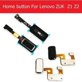 Accueil bouton câble flexible pour Lenovo ZUK Z1 Z1221 Menu retour claviers pour Lenovo ZUK Z2 capteur d'empreintes digitales câble de remplacement