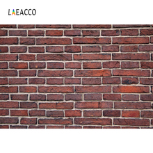 Laeacco Brick Wall Photography Backgrounds Digital Customized Photographic Backdrops For Photo Studio