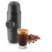 Mini Portable Manual Coffee Maker Hand Operated Espresso Maker Machine Coffee Pot Outdoor Travel Design Cappuccino For Home