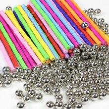 37-157pcs Magnetic Blocks Magnetic Designer Construction Toys Magnet Bars Metal Balls Educational Toys for Children Kids Gift