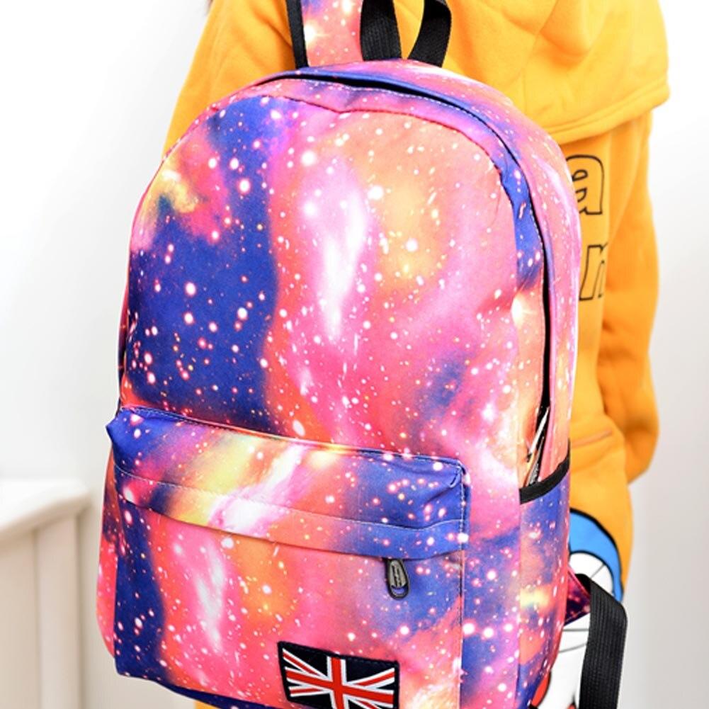 escola mochilas britânico-bolsa bandeira ombro Material Principal : Nylon