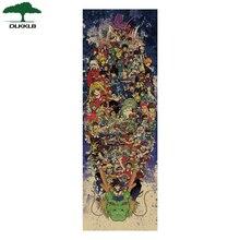 DLKKLB gran colección de Anime japonés Vintage decoración Kraft Poster Diy pegatina de pared hogar Bar decoración regalo pinturas decorativas
