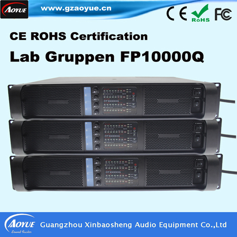 [On Promotion] 2016 New hot selling products acoustic high power amplifier Lab gruppen FP10000q with OEM front panel