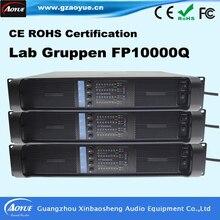 [Promoción] 2016 Nuevos productos de venta caliente acústica de alta potencia amplificador gruppen Laboratorio FP10000q con panel frontal OEM