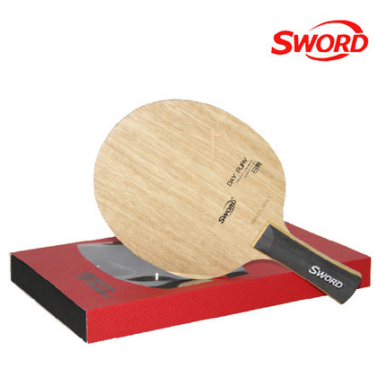 SWORD DAY FURY 7 Ply Pure Wood Table Tennis Blade Racket Ping Pong Bat Paddle hrt rosewood nct vii table tennis ping pong blade 7 ply wood
