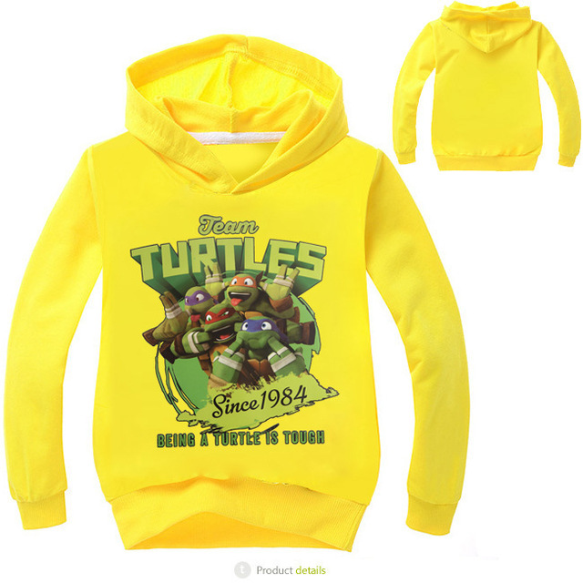 Newest Hot Kids Hoodies Girls Boys Spring Autumn Sweater Long Sleeve Outwear Casual Cartoon Baby Clothes for 3-10y