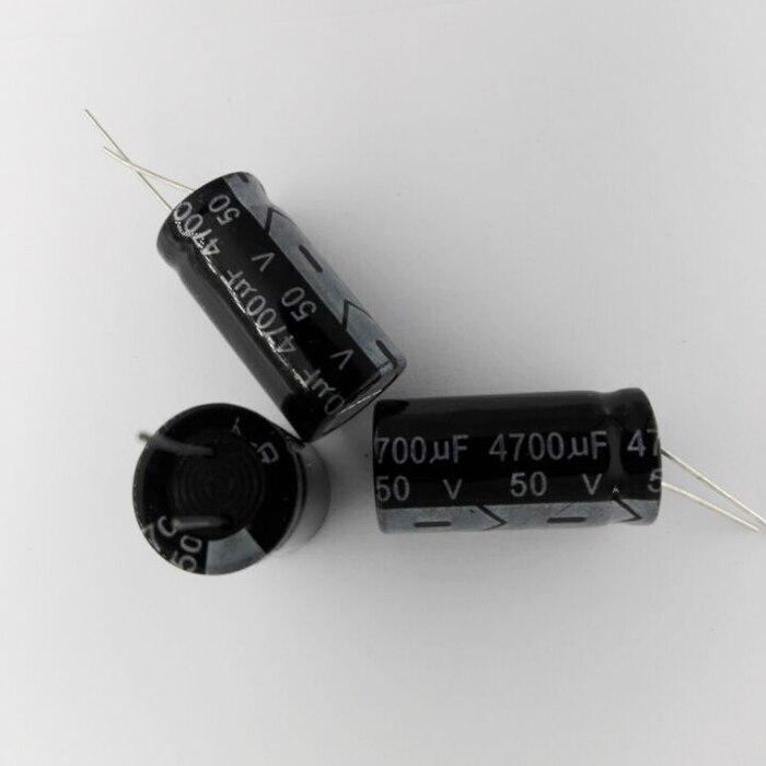 Алюминиевый электролитический конденсатор 50 в 35 в 25 в 16 в 2200 мкФ 3300 мкФ 4700 УФ 5 шт.