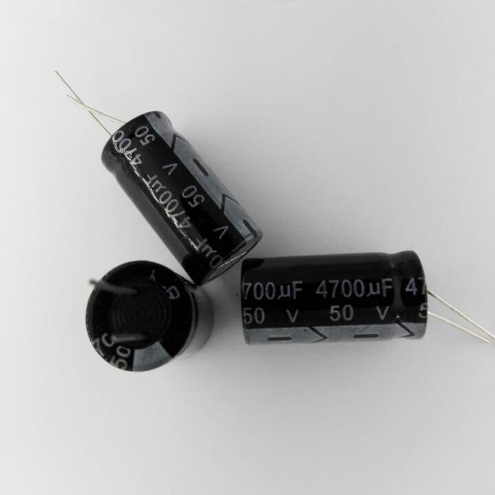 Aluminum Electrolytic Capacitor  50V  35V  25V  16V   2200UF    3300UF    4700UF   5PCS