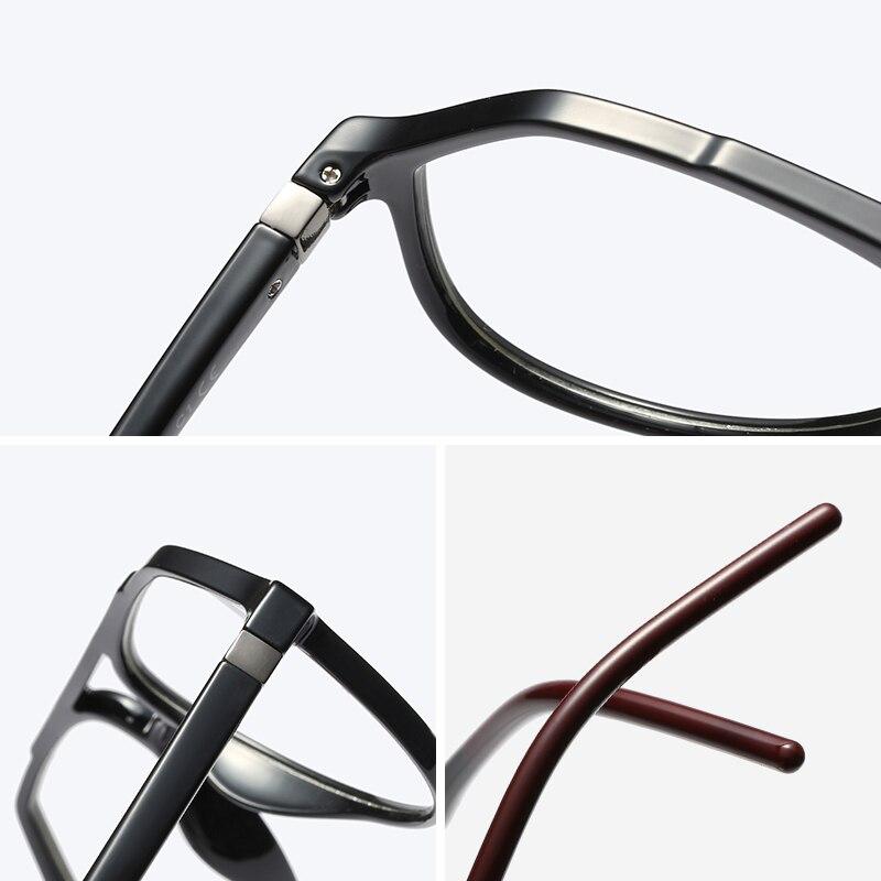 Image 5 - Clear Optical Glasses for Men Frame Transparent Myopia Degree Eyeglasses Frame TR90 Prescription Eyewear Frame Pilot Spectacles-in Men's Eyewear Frames from Apparel Accessories