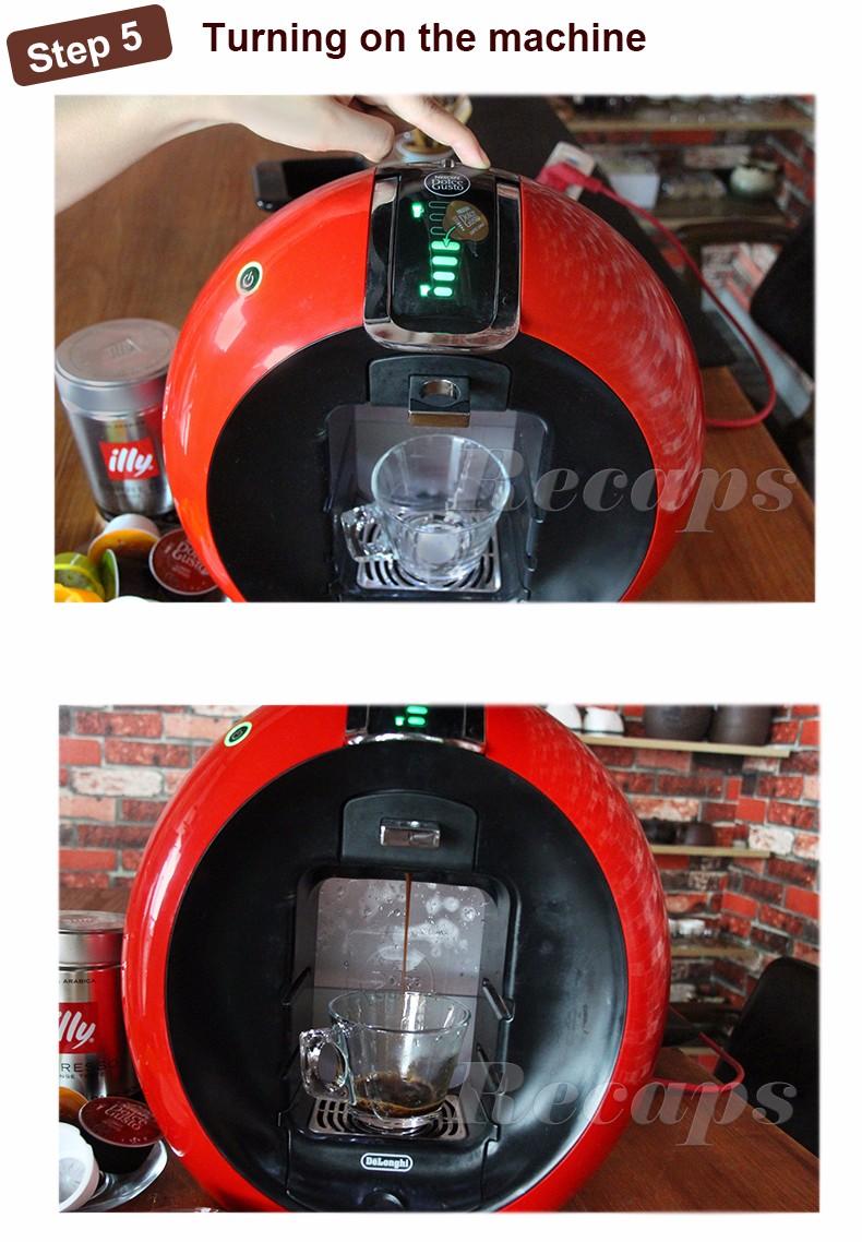 coffee machine capsule