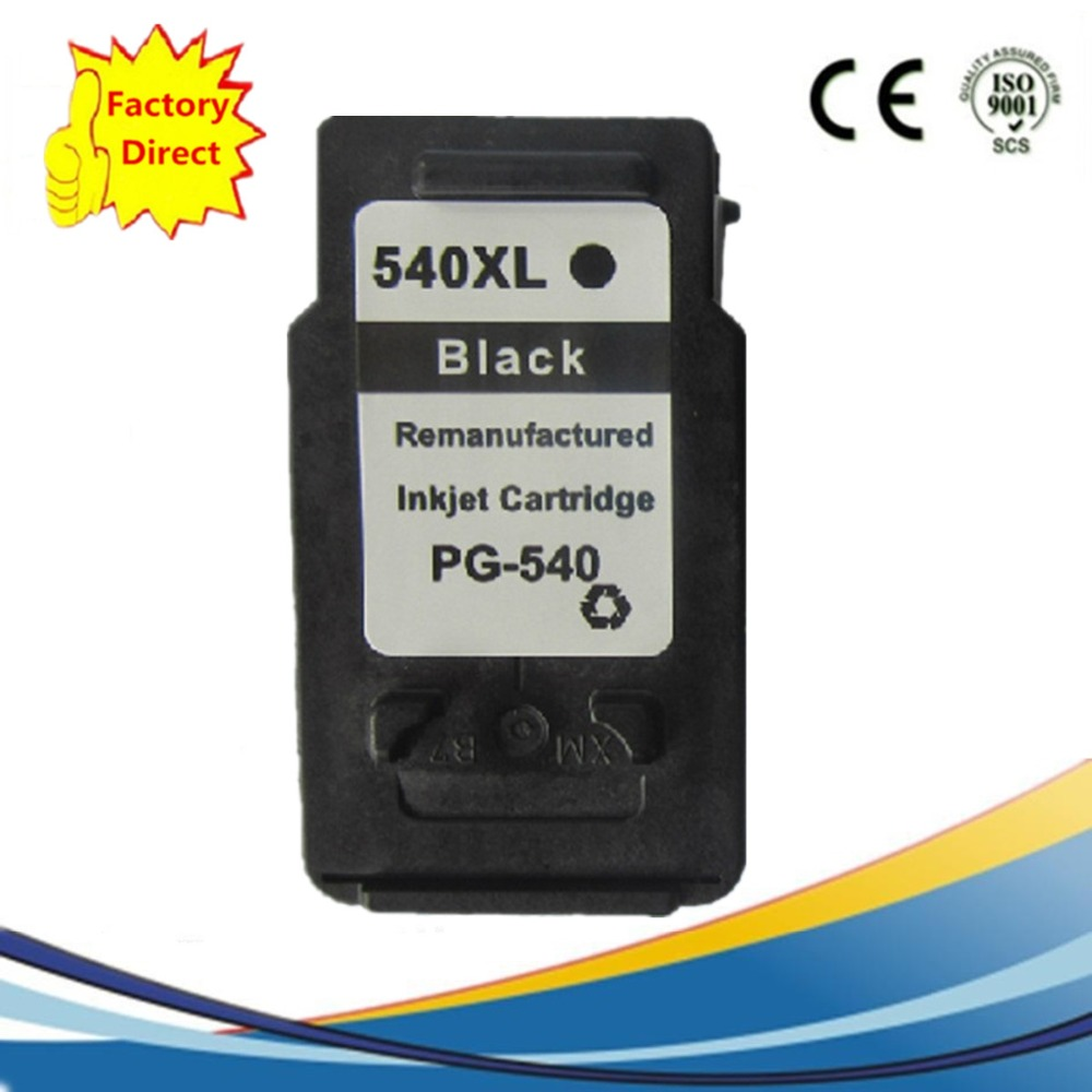 PG-540 PG-540XL PG540 PG540XL PG 540 540XL Ink Cartridges Remanufactured For Canon Pixma MG-2150 MG-2250 MG-3150 MG-3250 MG-4150