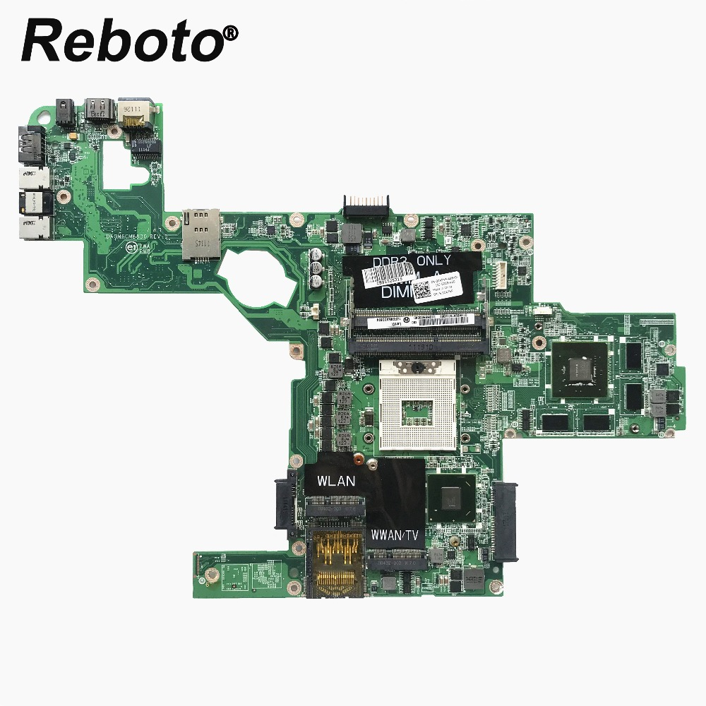 Reboto CN 0C47NF For DELL XPS L502X Laptop Motherboard With GT525M 1GB GPU 0C47NF C47NF DAGM6CMB8D0