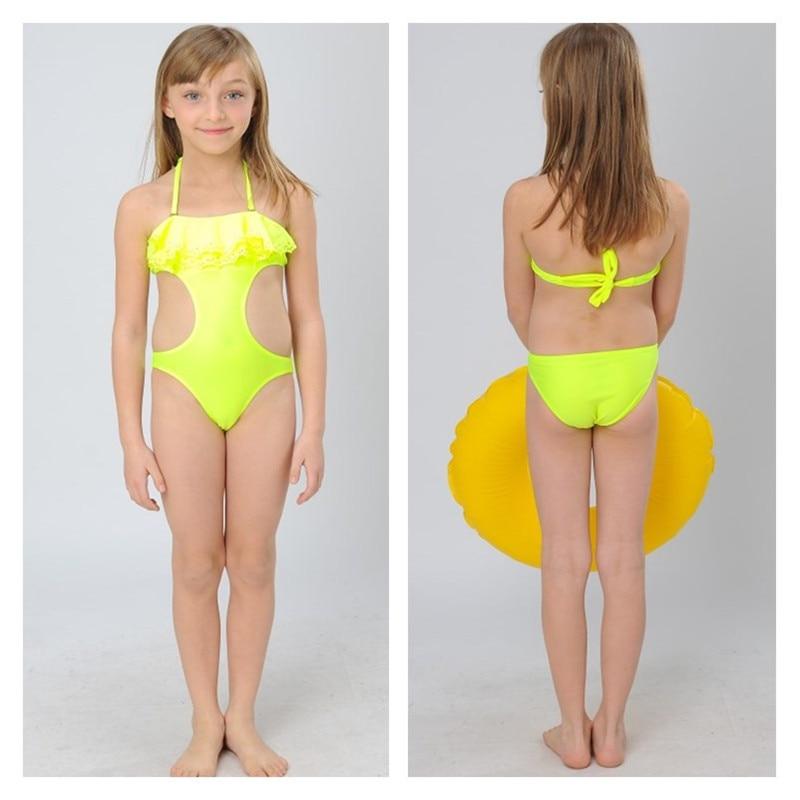 2016 New Summer Children's girls swimwear cute bikini ...