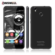 Оригинал Oukitel K7000 4 Г Сотовый Телефон MT6737 Quad Core 0.2 s Отпечатков Пальцев ID Смартфон 2 Г + 16 Г 8.0MP Android 6.0 GPS мобильного телефона