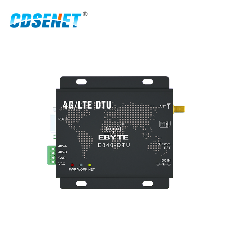 Image 2 - RS232 RS485 4G LET Modem Wireless Transceiver E840 DTU(4G 02) IoT Data Transmitter RF Module-in Fixed Wireless Terminals from Cellphones & Telecommunications