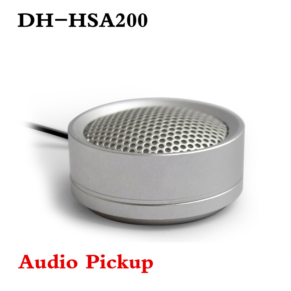 DH Audio Pickup DH-HSA200 Hi-fidelity Audio Picker Microphone For Dahua HIKVISION Audio And Alarm Camera HSA200