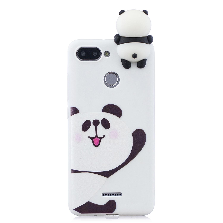 Details about Xiaomi Redmi 6A Case for Xiaomi Redmi 6 Cover 3D Cute Panda Unicorn Pig