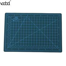 VODOOL A5 Cutting Mat PVC Self Healing Builders 22 x 15cm Cutting Craft Mat Office Home Paper DIY Tool Cutting Pad
