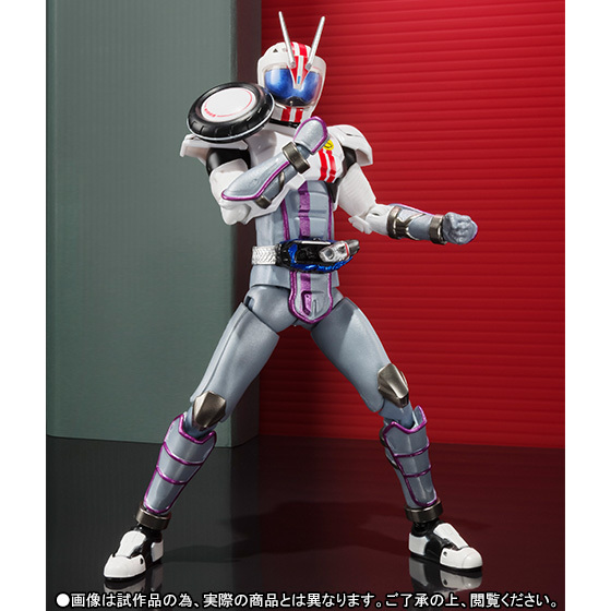 "Anime ""Kamen Rider Drive"" Originele Bandai Tamashii Naties S.H. Figuarts/Shf Exclusieve Action Figure   Kamen Rider Chaser Mach"