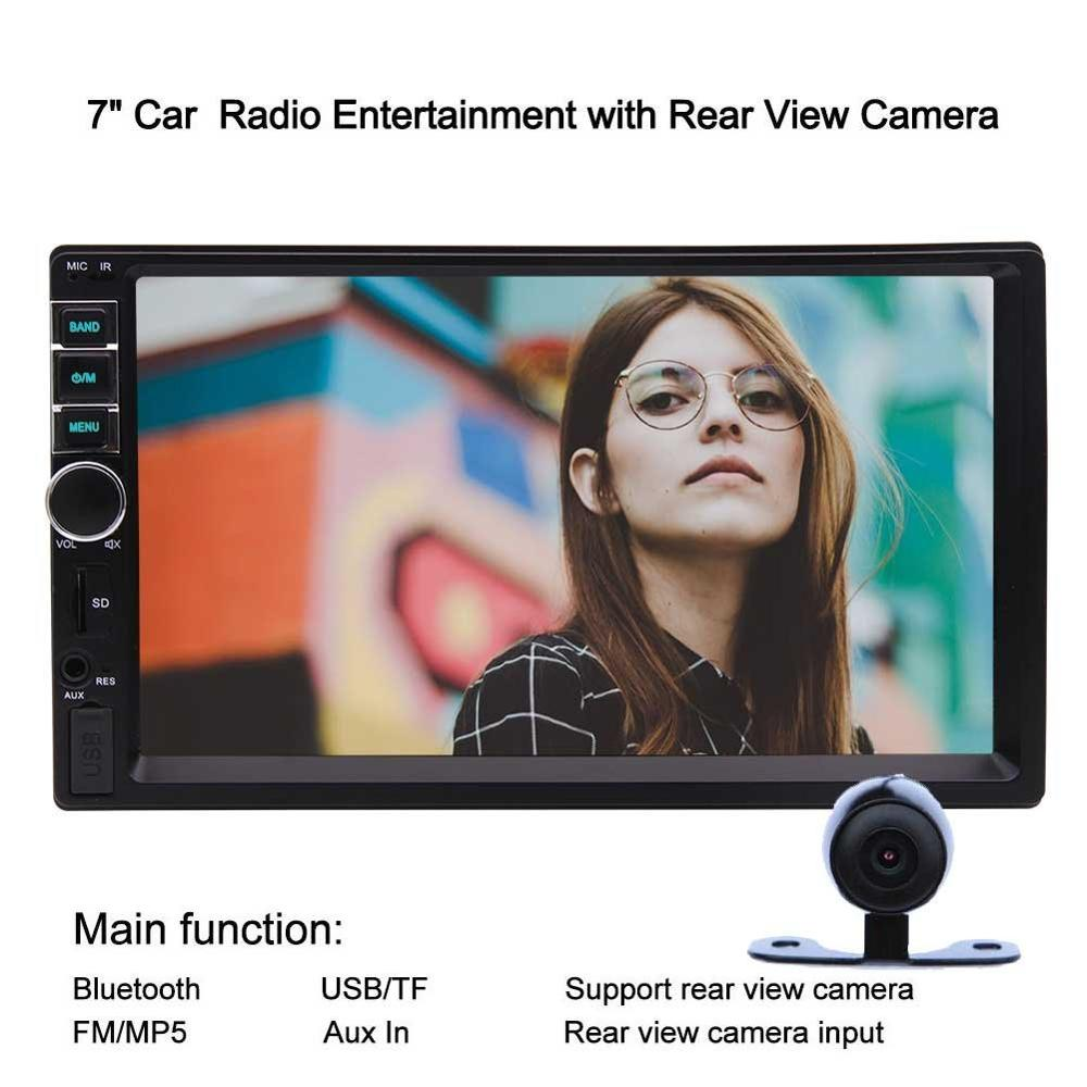 EinCar 7 Double Din Bluetooth Car Stereo MP5 font b Radio b font Video Player In