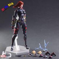 Arti Gioco 27 Cm Marvel Avengers Black Widow Action Figure Model Toy