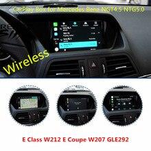 Послепродажный беспроводной Carplay смарт-бокс для Mercedes Benz E Class W212 E Coupe W207 NTG4.5 NTG5.0