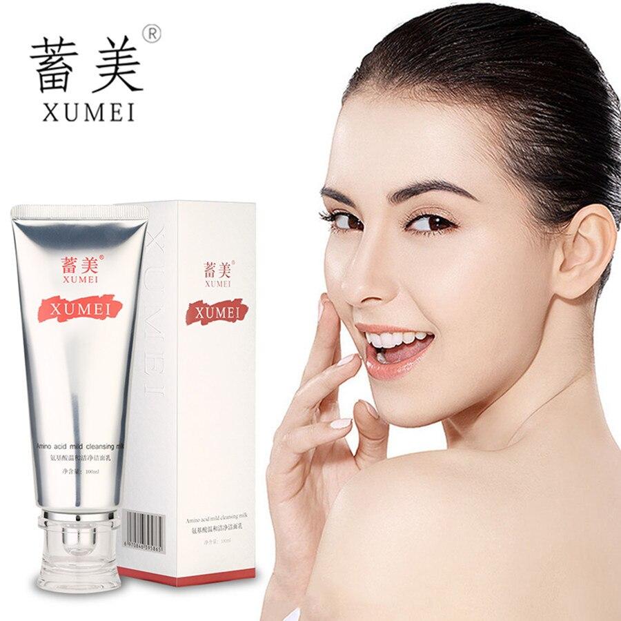 Amino acid mild cleansing cream clean pores brighten skin color balance oil and restore цена