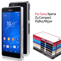 for Coque Sony Xperia Z3 Compact D5803 D5833 M55w Case Hippocampal Buckle Metal Bumper Rim Case for sony xperia z 3 compact Capa