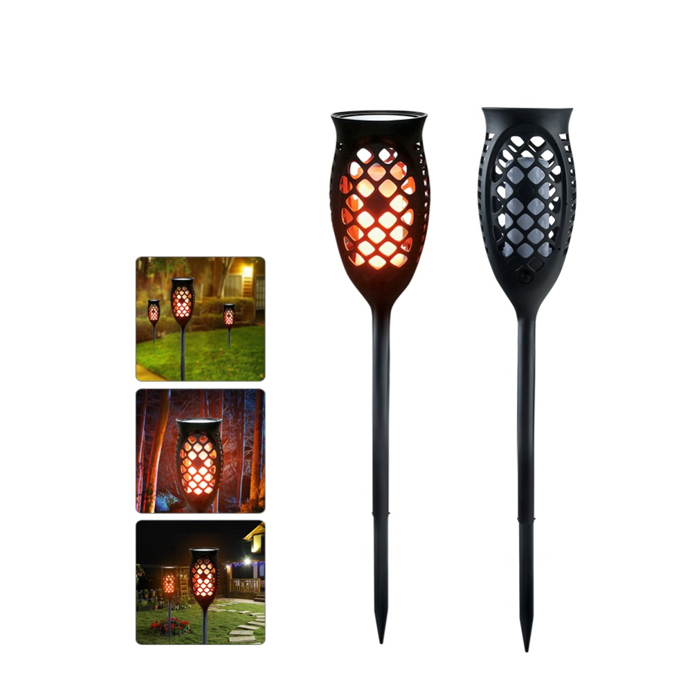 Porch Light Flickers When Off: Solar Flame Lamp Led Flickering Lawn Lamp Dancing Flame