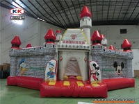 new inflatable amusement park air castle bouncer slide fun city game combo
