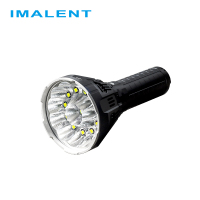 IMALENT MS12 12xCREE XHP70 53000 Lumens High Performance Outdoor Search Light LED Flashlight (Battery Pack Build in)