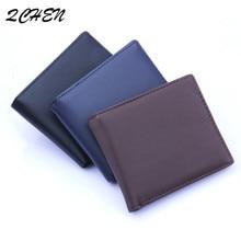 Men's wallet New carbon fiber imitation  fashion wallet PU material men's  fine texture pocket like quality No zipper Open 012