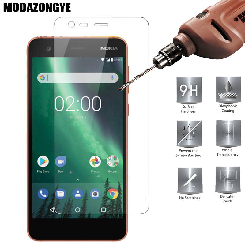 Screen Protector Nokia 2 Tempered Glass Nokia2 Screen Protector Nokia 2 Nokia2 TA-1029 TA-1035 Protective Film Glass