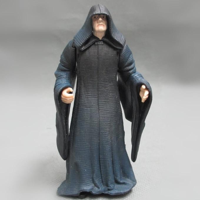 Livraison gratuite 1 pcs 10 cm = 3.9 '' originale Star Wars 7 plus grand méchant Palpatine modèle décoration PVC Toy Action Figure Doll