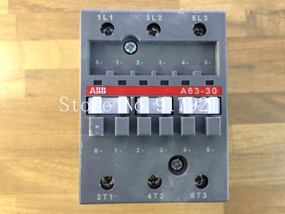 [ZOB] The original original A63-30 AC contactor 220V 380VAC ensure genuine original