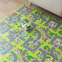 9pcs Each 30*30*1CM Baby EVA Puzzle Foam Mat Traffic route Play Mats kids Carpet Play Crawling Mat for Baby Game Mat Floor Rugs